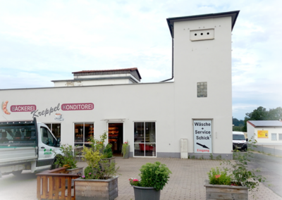 Wäscherei Schick Ebensfeld Fassade von außen