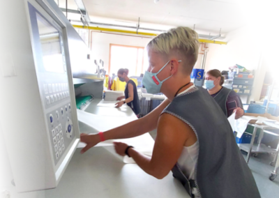 Wäscherei Schick Ebensfeld Mangeln